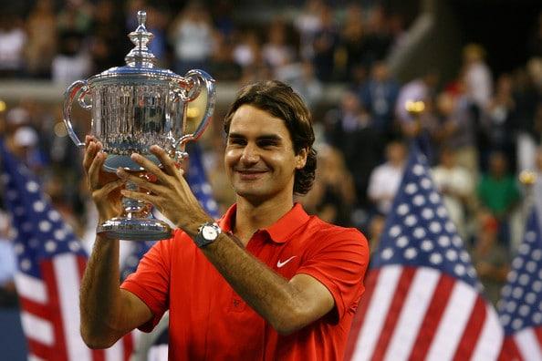 Federer Us Open 08 Al Bello