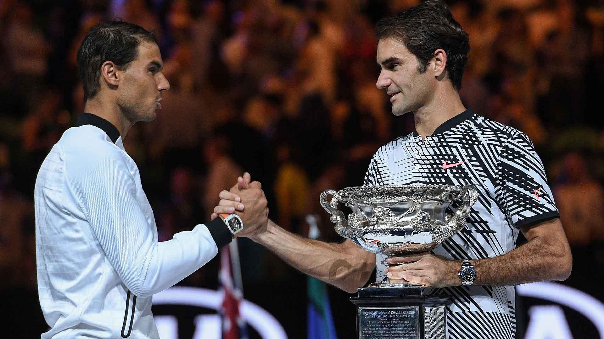 Nadal Federer Australian Open 2017 Final Handshake