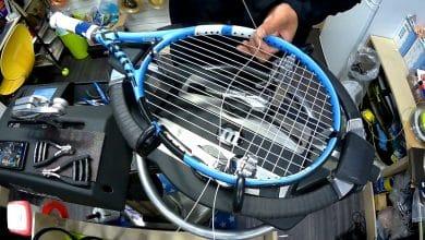 Tennis Racquet String Tension