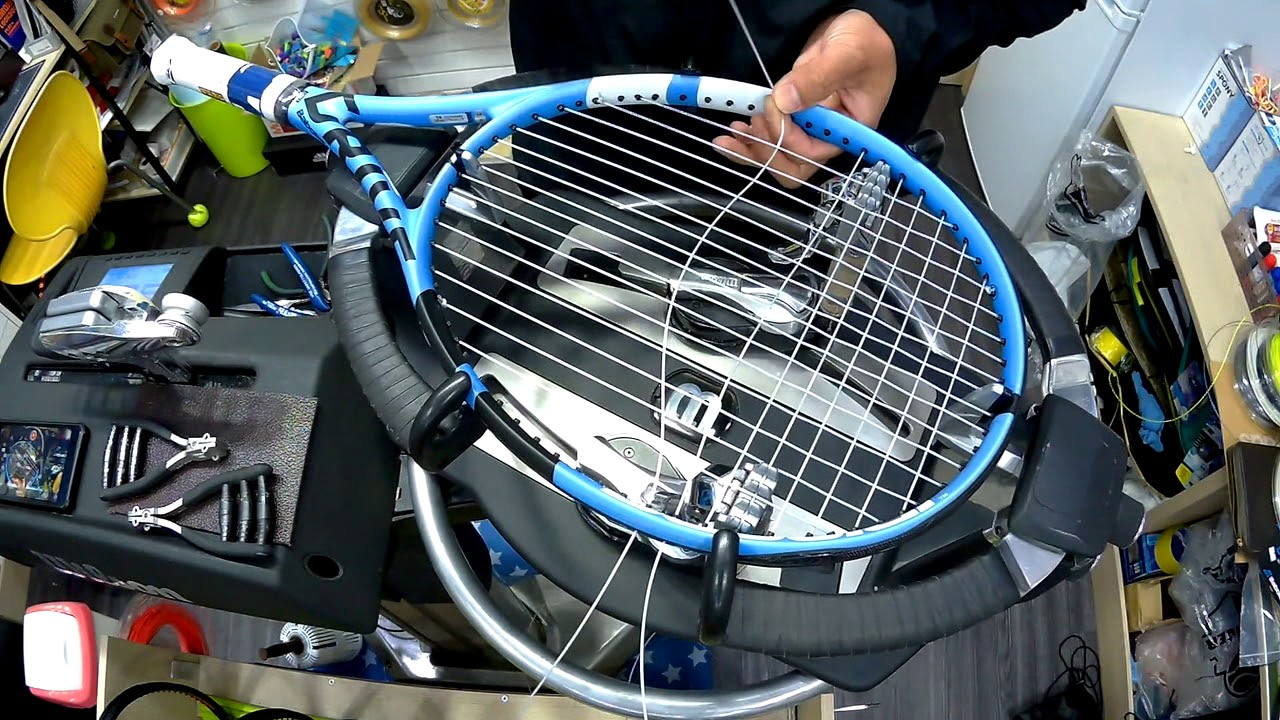 Tennis Racquet String Tension
