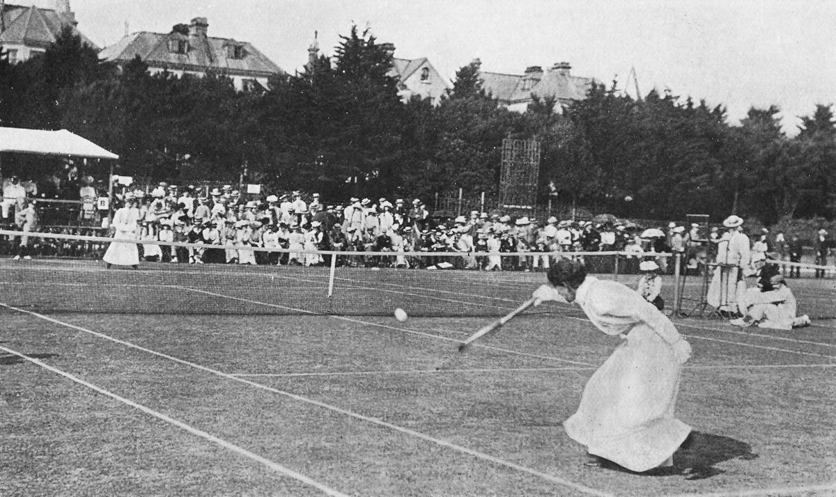 Lawn Tennis White Ball