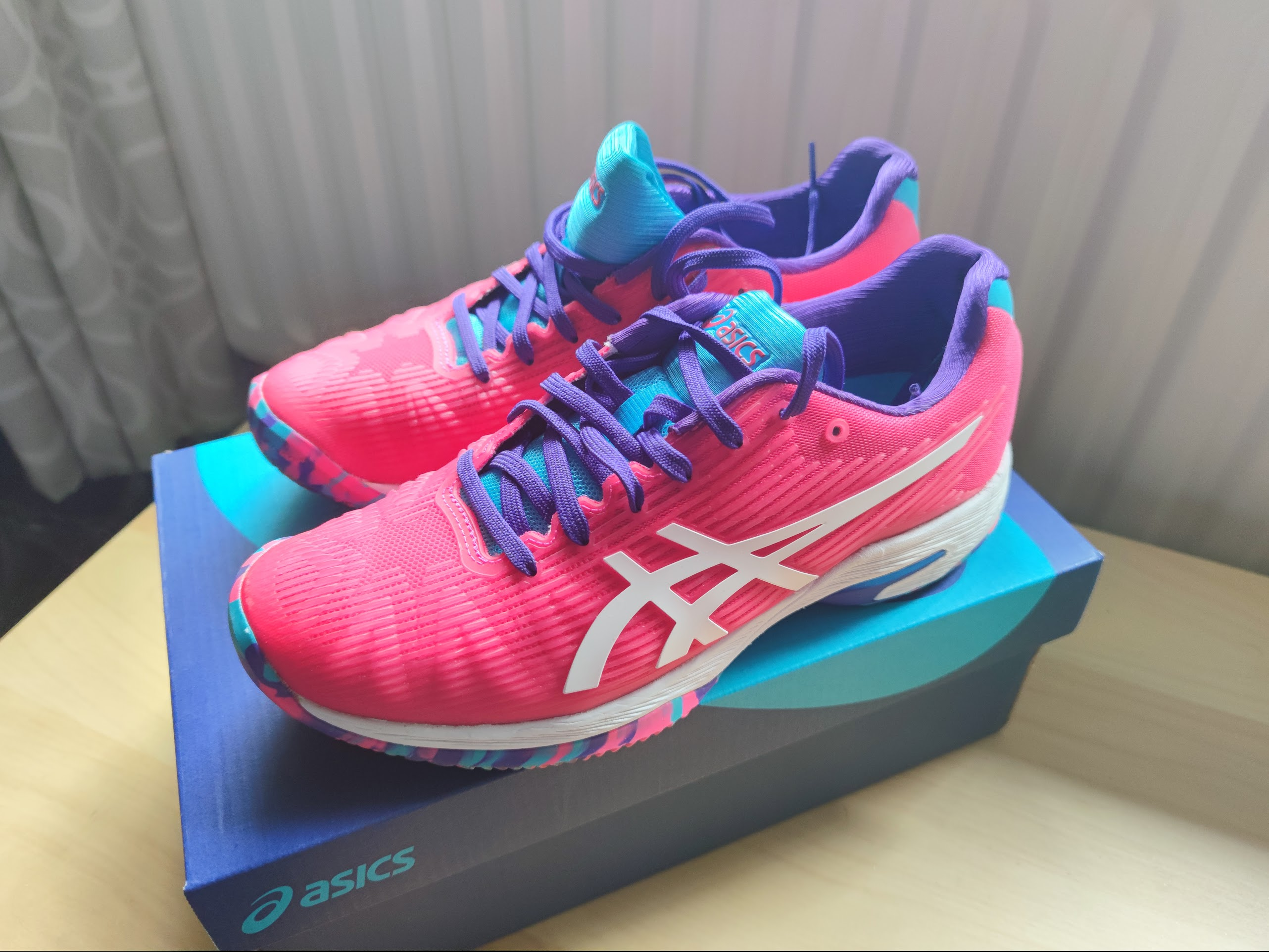 Línea del sitio estético trono  Asics Solution Speed FF Review - peRFect Tennis