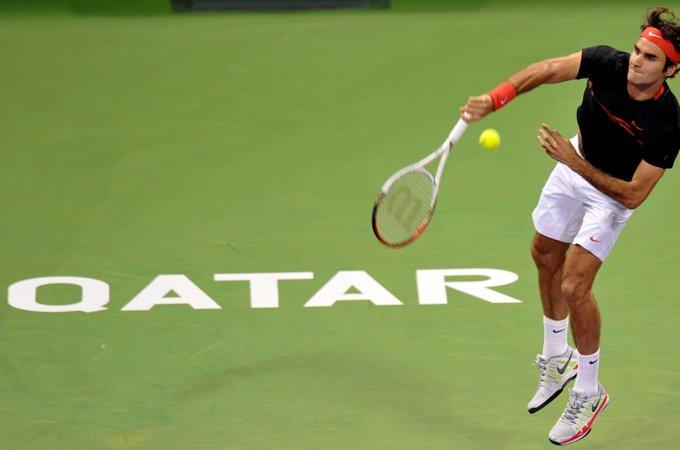 Federer Doha Return