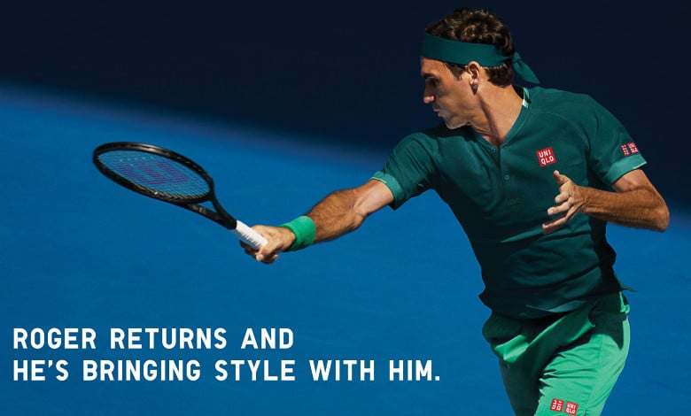 federer doha uniqlo 2021 outfit