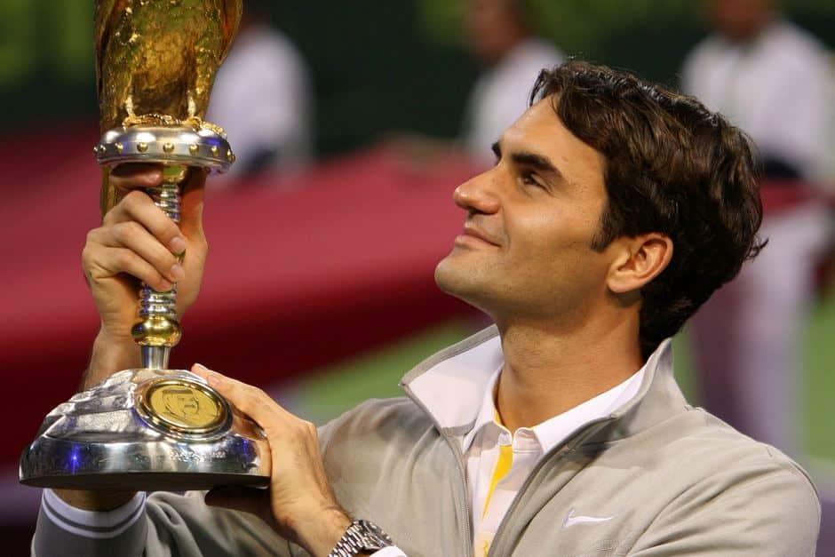 Federer Doha Title