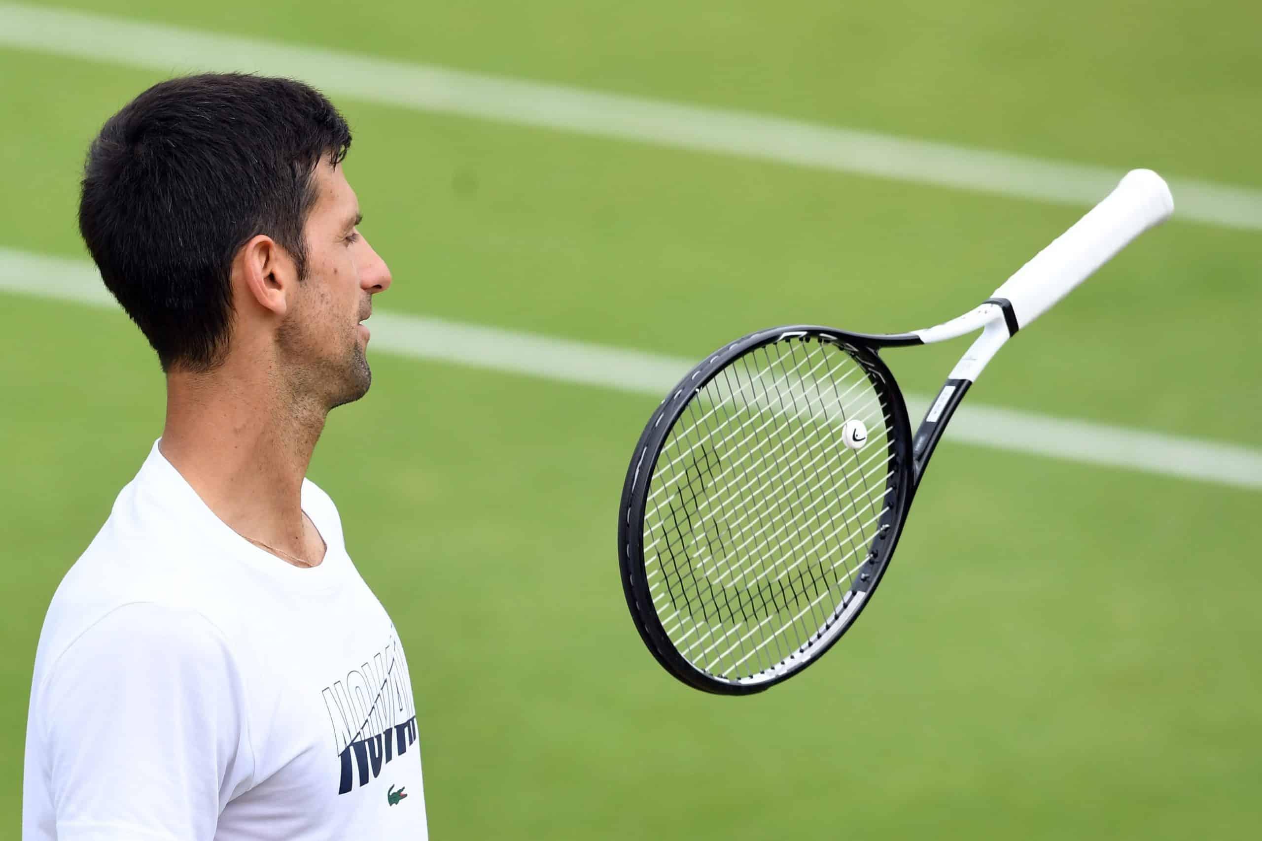 Djokovic Head Pro Stock Racquet