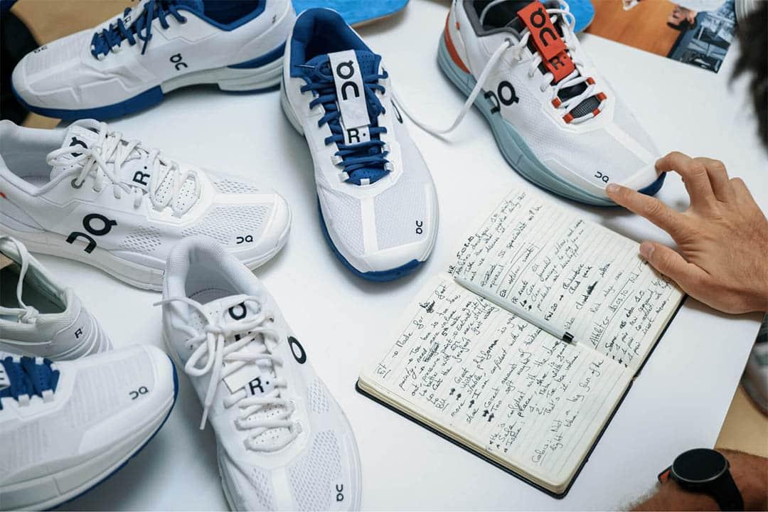 on running tennis