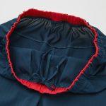 rf blue shorts waist band