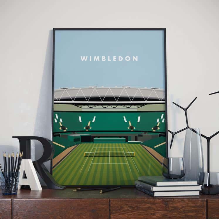 wimbledon centre court print