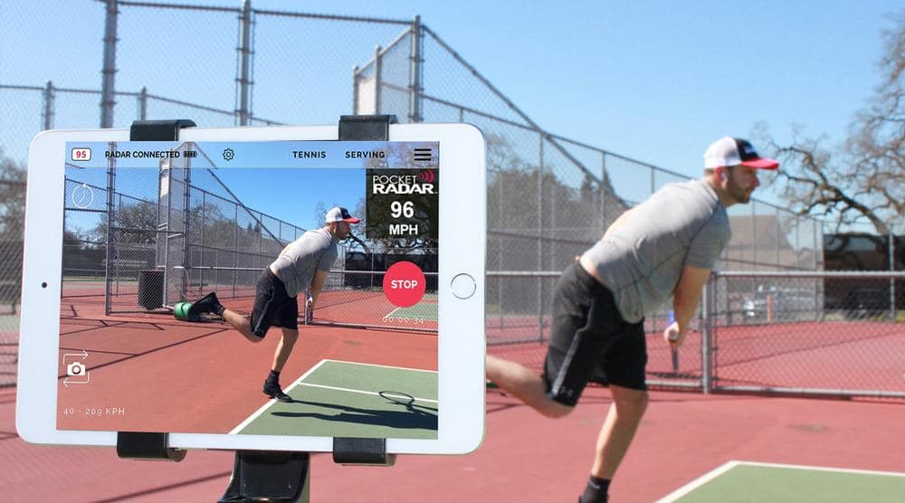 tennis radar gun