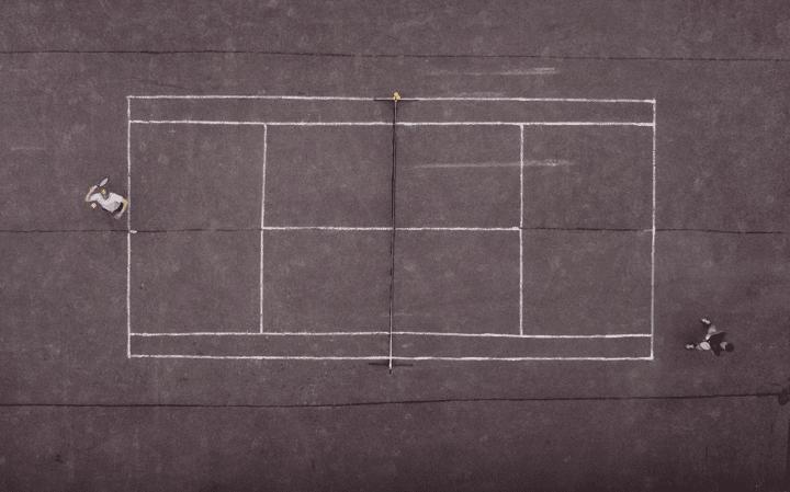 touch tennis court