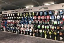 tennis racquet brands