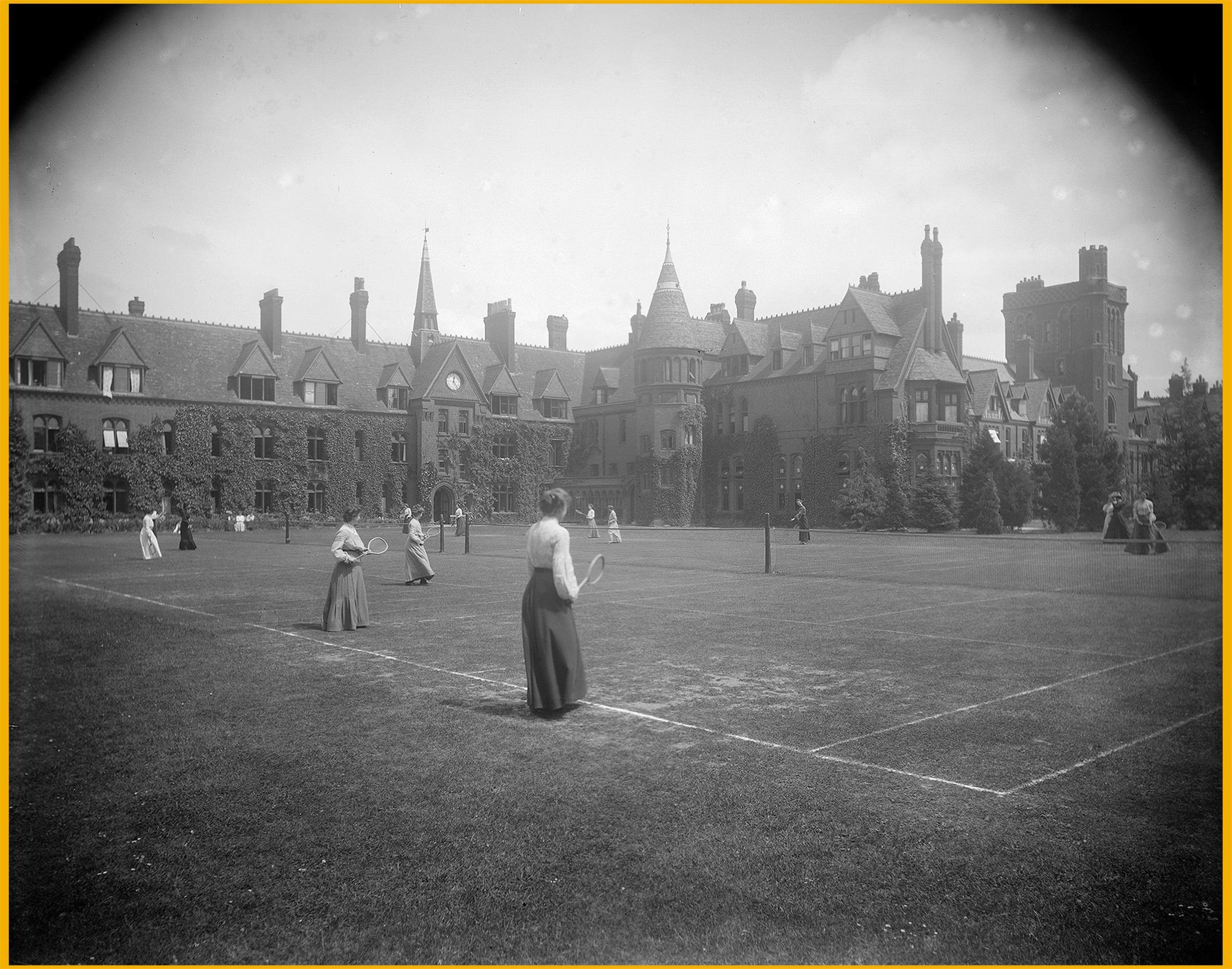 tennis scoring origins